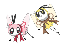 Ribombee reminds me of Tweety.