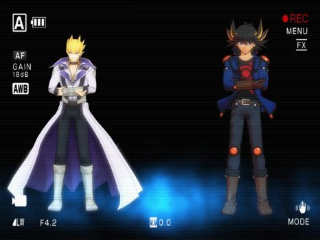 MMD (Yu-Gi-Oh! 5D's) _ Freeky +DL by animerelax1