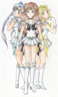 Sailor Elite in Color by vanillain0cence