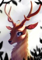 Elk by BegasusTiuBe