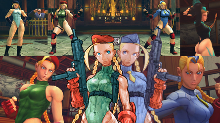 USF4 Cammy 2 in 1 Mod by TheLastGallant