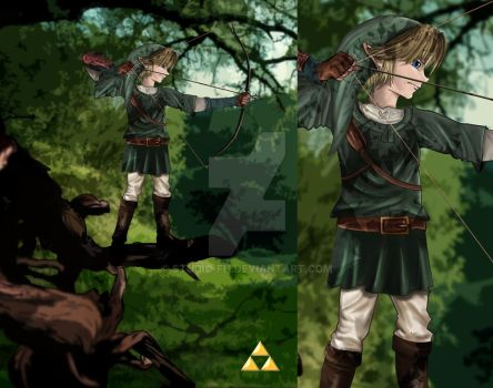 The Legend of  Zelda by studio-fh