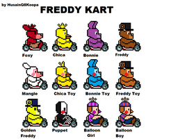 Freddy Kart Snes by HuswserStar