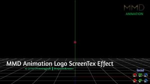 [MMD+DL] ScreenTex Effect v1.04 (MMDLogo) by BenjaminRomero