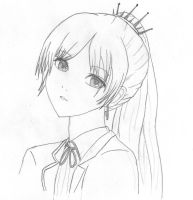 Weiss Schnee RWBY by HeartlessGUYnumber17