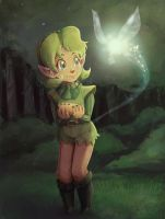 Saria the kokiri by Evanatt