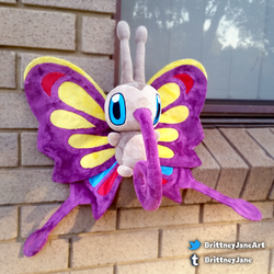 Shiny Beautifly Re-make! by xBrittneyJane