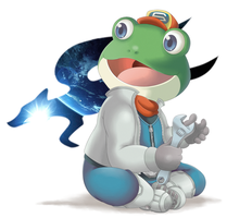 Slippy Toad by Kamezdov