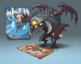 Roshan and calendars / Dota2 by O-l-i-v-i