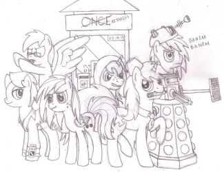 The Day of the Ponies (ft. Grupo de Choques) by DoctorGiratina