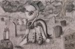 Applejack the grave digger by TurquoiseThought