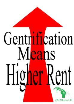 Gentrafication means higher rent by The-Laughing-Rabbit