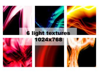 6 light textures by aaskie