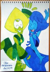 Lapidot fusion dance by JenHedgehog