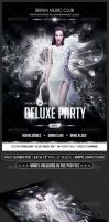 Deluxe Party Flyer by Minkki2fly