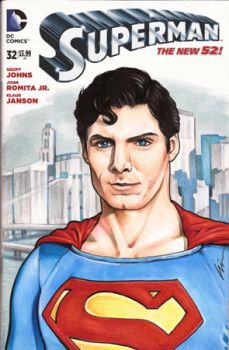 Christopher Reeve Supes by linworkman