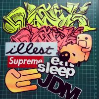 Some fresh vinyl stickers by justbelikeshadow