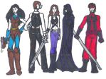 OC's: my vigilantes by Valor1387
