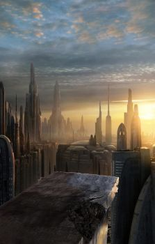 Coruscant View by jc-starstorm