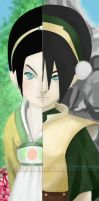 Toph-her and her by cloudflower01