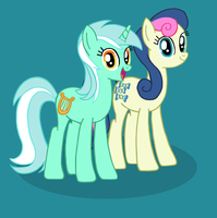 Sweet Ponies Together Forever by CybertronianBrony