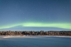 Aurora in Finnish Lapland by andykeen