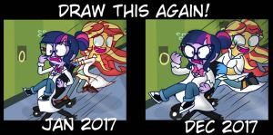 Draw this again! by psychodiamondstar