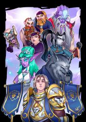 Battle for Azeroth: For the ALLIANCE! by Lushies-Art