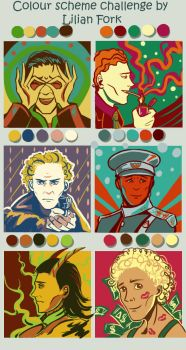 Hiddles color scheme by Dreambeing