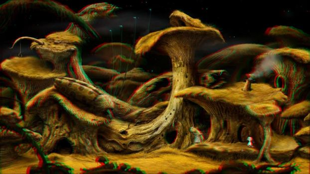 Samorost 3 - the second planet 3-D conversion by MVRamsey