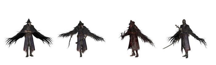 BloodBorne Crows by Tokami-Fuko