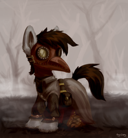 The Plague Doctor by Amy-Gamy