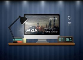 Office Hour Style Widget for xwidget by Jimking