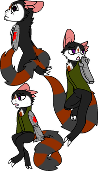 Lass poses by millemusen