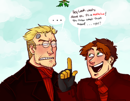 Fags on Christmas by NicolasFlame