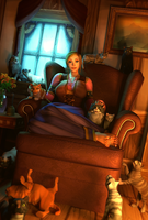 Crazy Cat Lady by mystmantle