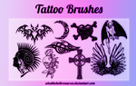 Tattoo Brushes by WhatTheHellResources