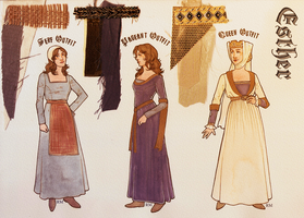 Esther Costume Designs by Velven