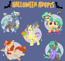 JUST THREE LEFT! Halloween Adopts - PayPal Only by ItsTaylor-Made