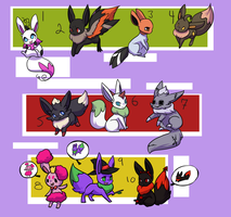 Pkmnation Haunted foxes by kitzune-griffith