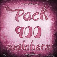 +Pack 900 Watchers. by MyLoveIsLikeaStar