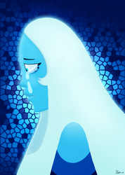 Steven Universe: What's the use in feeling, Blue? by theamazingkitkatt