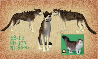 Brown Patches Preset Auction by Emelia-Tiger