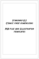 Comic Page Templates by Mintoons