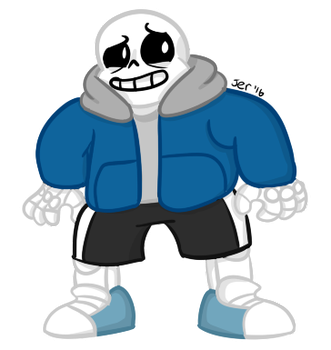 Sans again by courlersix