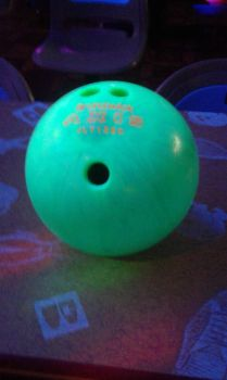 Neon green ball by Timber-Wolf-724