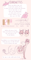 Florinettes Species Chart by PetitePasserine