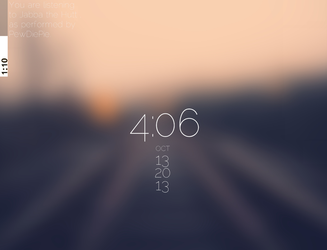 Blurred Tracks by metrolover01