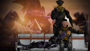 Mass Effect: Salvation War- No Escape! No Victory! by EnduringFighter