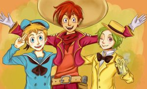 The Three Caballeros by Brimms